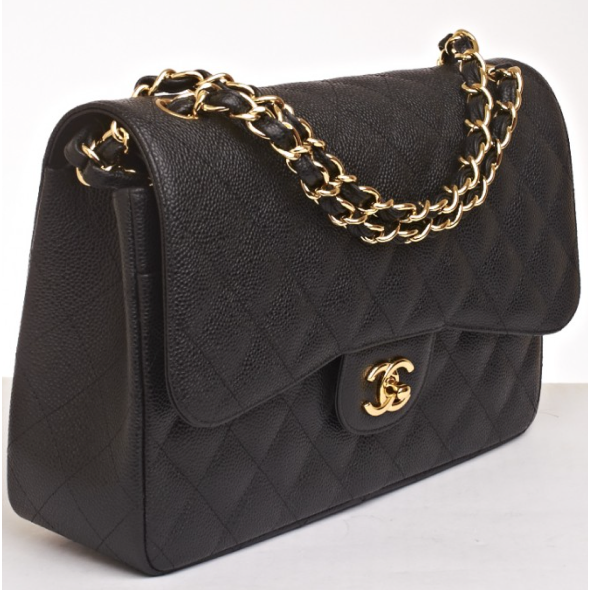 Chanel 2 55 Jumbo Flap Bag Replica